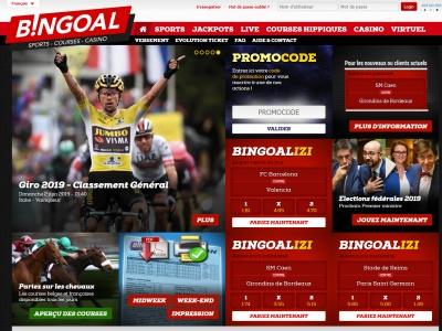 Paris Sportifs Bingoal - PMU