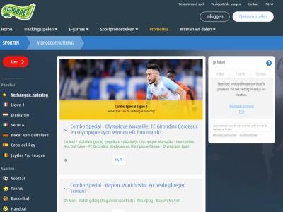 Paris Sportifs Scooore - E-lotto